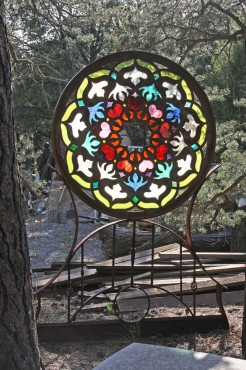 Mandala backlit for V